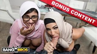 BANGBROS – Watch Mia Khalifa & Julianna Vega Fuck Sean Lawless… With Bonus Content!