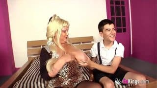 Big breasted nanny and Jordi? This could end with a wedding!