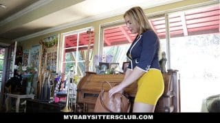 MyBabySittersClub – Hot Baby Sitter Craves Big Cocks