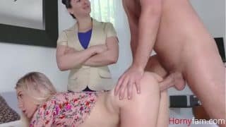 MOM Forces Daughter To Fuck SON- Paisley Bennet